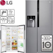 LG NoFrost Side-by-Side 4 Liter Wassertank Edelstahl Kühl-Gefrierkombination NEU