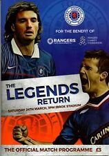 17/18 Rangers v Legends Return (Friendly)