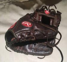 "Rawlings Ggb1072, 10.75"", 10 3/4 Rh thrower Baseball Glove. Gold glove pro tapee"