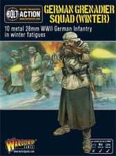 Warlord Games Bolt Action BNIB German Grenadiers in Winter Clothing WGB-WM-07