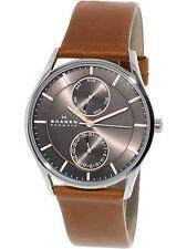 Skagen Men's Holst SKW6086 Brown Leather Japanese Quartz Fashion Watch
