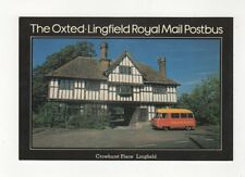 Oxted Lingfield Post Bus Crowhurst Place Lingfield Postcard 450a