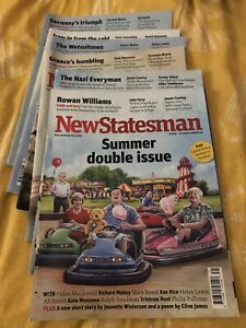 X6 BUNDLE NEW STATESMAN MAGAZINE 2015 JUNE JULY