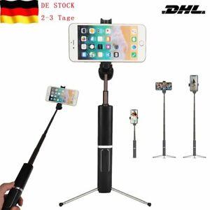 Selfie Stick Wireless Bluetooth 3 in 1 Stange Stab Monopod 360° Erweiterbar DHL