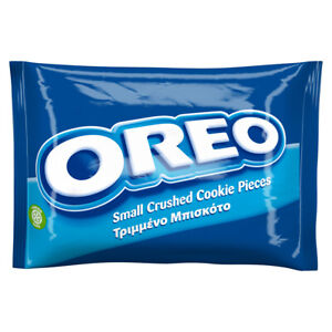 Oreo Crumbs (No Filling) 400g - Small Crushed Chocolate Flavoured Cookie Pieces