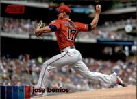 2020 Topps Stadium Club JOSE BERRIOS Red Foil Parallel #254 Twins