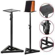 Studio Monitor Speaker Stand Adjustable Height Concert Band Club DJ Pair us