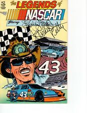 Legends of NASCAR Comic #2 Signed by Richard Petty, the King of NASCAR.