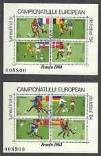 Timbres Sports Football Roumanie BF168/9 o lot 2687