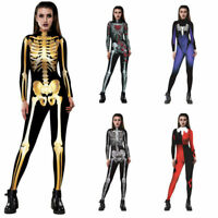 Jumpsuit Bodysuit Spider New Catsuit Women Skeleton Dance Stage Sexy Faux