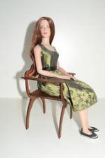 """Dantesca chair for Dolls 1/4 16"""" TONNER BJD Italian Renaissance wooden Cami"""