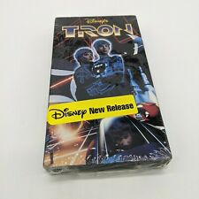 Disney Tron Vhs Brand New Sealed Jeff Bridges w/Some Flaws See Pictures