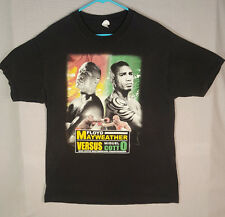 Floyd Mayweather vs Cotto Mens Sz L 2 sided Short Sleeve Boxing Kings Shirt