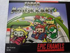 PRINCESS PEACH Super Mario Kart Geek Fuel Epic Enamels Pins Moto Kart Pin MINT