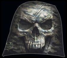 Spiral Camo Skull Beanie mehrfarbig