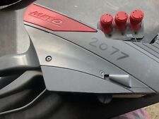 Meto Proline Xl 3329 3-Line Pricing Gun Grey with Red Flairs Used