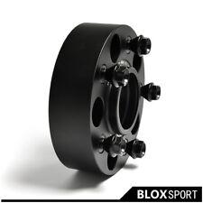 60mm (4) For BMW 5 Series, M5, E60, E61 Black AL Wheel Spacer 5x120+ 20pcs Bolts