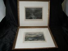 Pr Drawings WH Barlett Connemara Ireland Head Killeries & Clifden art decor