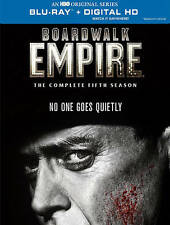 Boardwalk Empire: The Complete Fifth Season (Blu-ray Disc, 2015, 3-Disc Set) NEW
