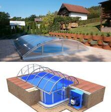 PP Pool 8x3,45x1,5 Quattro Klasik B Technologieschacht Albixon Schwimmbecken