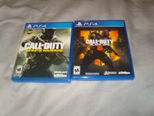 2 Game Bundle CALL OF DUTY Black Ops 4, Infinite Warfare PLAYSTATION 4