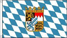 BAVARIA FLAG 5' x 3' Bavarian Crest Beer Festival German Germany Oktoberfest Bar