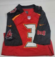 Nike Tampa Bay Buccaneers Jameis Winston #3  Jersey NFL On Field Bucs Small