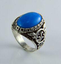 Turquoise Gemstone Rings for Men