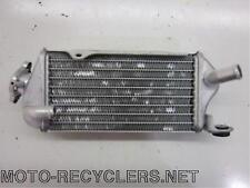 07 KX85 KX 85 KX100  right  radiator with cap    40