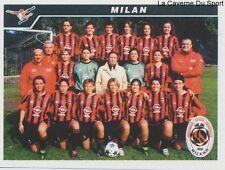 758 SQUADRA AC.MILAN ITALIA CALCIO FEMMINILE STICKER CALCIATORI 2005 PANINI