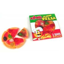 15 COUNT EFRUTTI GUMMY MINI PIZZAS FRUIT FLAVORED CANDY PARTY FAVOR GOODY BAGS