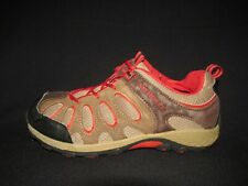 Merrell Brown Chameleon Low Lace Hiking Trail Shoes Boys Us 5.5M