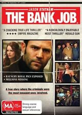 THE BANK JOB - JASON STATHAM / SAFFRON BURROWS - NEW SEALED DVD