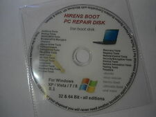 """All Windows Rescue, Repair & Recovery Hirens Boot Disc """"ADVANCED USERS ONLY"""""""