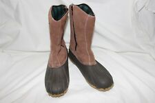 Redhead Men's Waterproof Insulated Flannel Zippered Boots Size 9 D