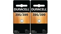 Button Cell Type 395 399 Battery Duracell 2 Pcs