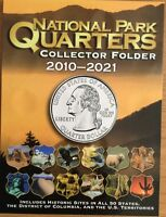 National Park Quarters Coin Folder Whitman 2010-2021 Collector Brand New