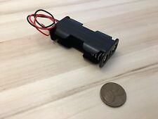 1 Piece - AA two Battery Storage Holder Case Box 2 Battery Wired plastic C31