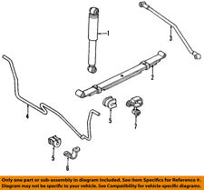 Jeep CHRYSLER OEM 91-01 Cherokee Rear-Leaf Spring 52000050AB