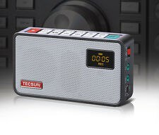 TECSUN ICR-100 FM Radio [With 16G TF Card] Recording MP3 Player Built in Speaker