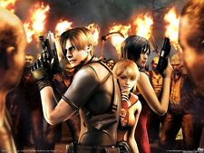 POSTER RESIDENT EVIL 1 2 3 4 5 6 SAGA CAPCOM PS3 BIG #2
