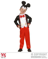 Childrens Mickey Mouse Fancy Dress Costume Baby Outfit 1-2 Yrs Clr