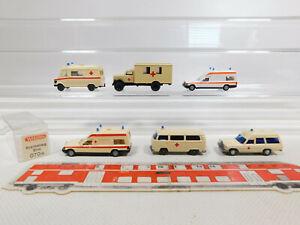CK955-0, 5 #6x wiking H0 / 1:87 Ambulance Etc. : VW +070 18 MB Binz + Opel , Top