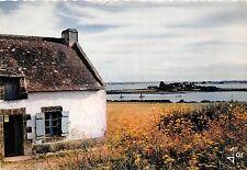 BR2671 La Maison di pecheur au bord du Golfe du Morbihar Bretagne  france