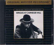 MINGUS, CHARLES MINGUS AT CARNEGIE HALL MFSL Gold CD UDCD 599