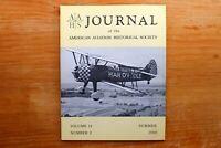 Vtg. AAHS American Aviation Journal Airplane Magazine Vol 14 #2 Summer 1969