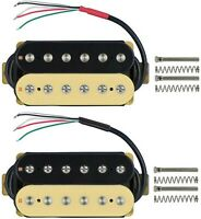 High Output Alnico 5 Guitar Pickup Double Coil Humbucker Pickups Neck&Bridge