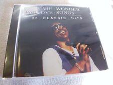 Stevie Wonder - Love songs-20 classic hits CD - OVP