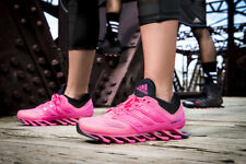 ADIDAS SPRINGBLADE DRIVE WOMEN'S RUNNING SHOES  C75669  PINK/BLACK