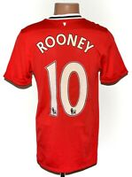 MANCHESTER UNITED 2011/2012 HOME FOOTBALL SHIRT JERSEY NIKE SIZE S  #10 ROONEY